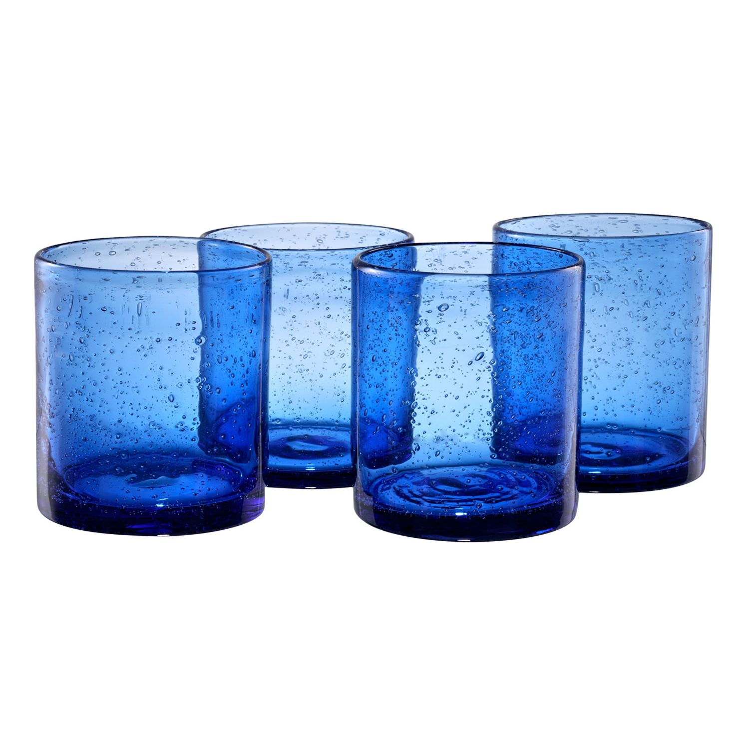 artland iris 4pc double glass set