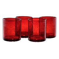Artland Iris 4-pc. Double Old-Fashioned Glass Set