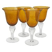 Artland Iris 4 pc Goblet Set