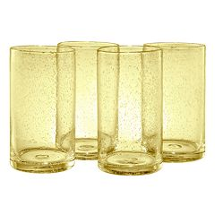 Artland Iris 4 pc Highball Glass Set