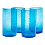 Artland Iris 4 pc Highball Glass Set