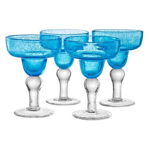 Artland Iris 4-pc. Margarita Glass Set