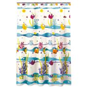 Allure Home Creations Something's Fishy Fabric Shower Curtain