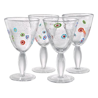 Artland Fiore 4-pc. Goblet Set