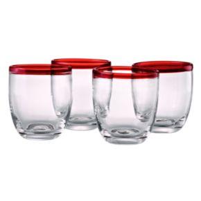 Artland Festival 4-pc. Double Old-Fashioned Glass Set