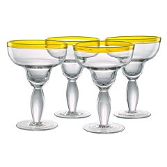 Artland Festival 4 pc Margarita Glass Set