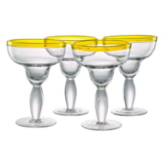 Artland Festival 4-pc. Margarita Glass Set