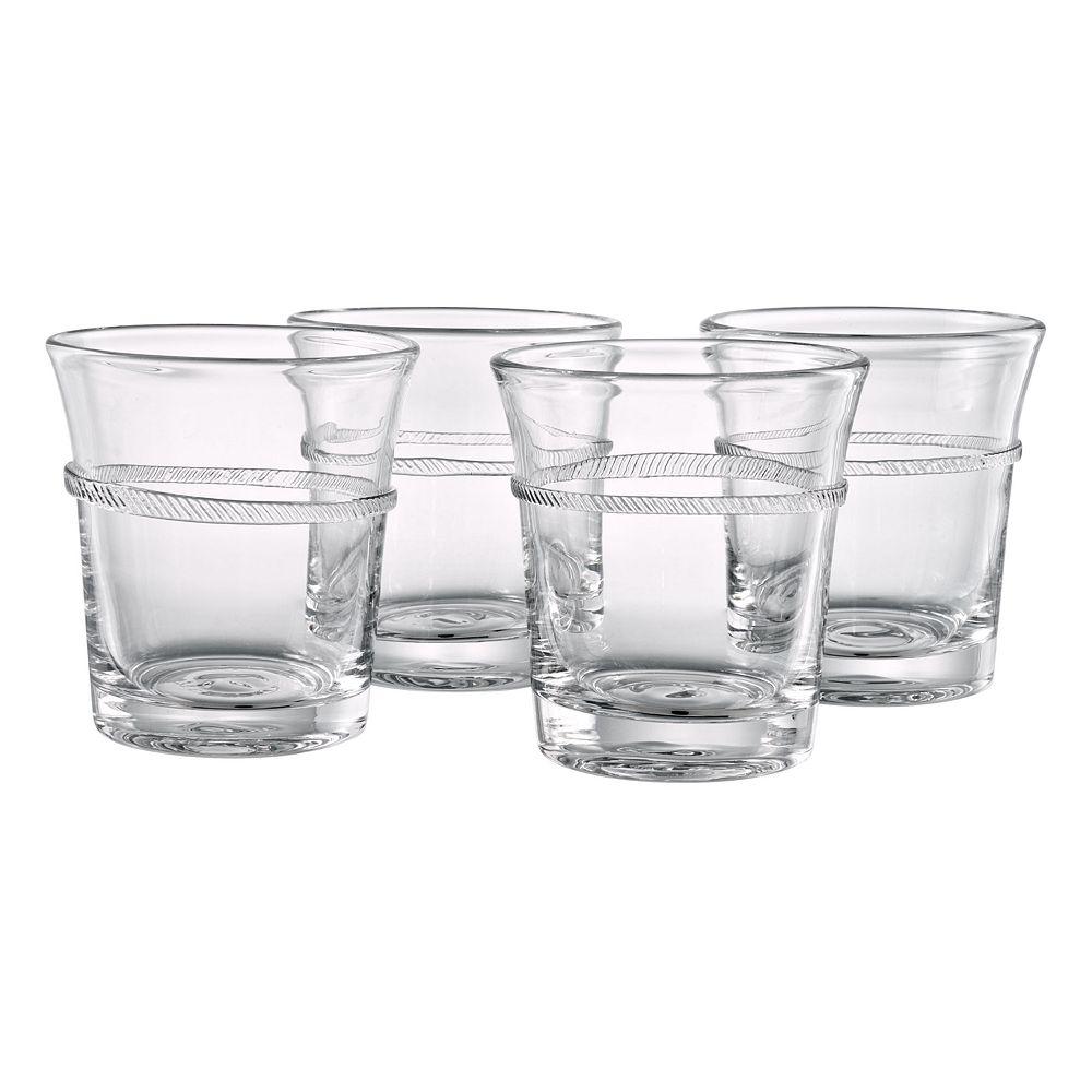 Artland Juniper 4-pc. Double Old-Fashioned Glass Set