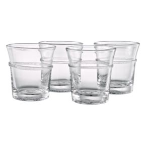 Artland Juniper 4-pc. Double Old-Fashioned Glass Set