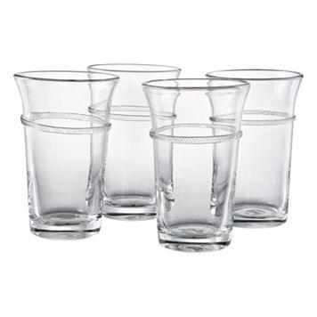 Artland Juniper 4-pc. Highball Glass Set