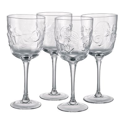 Artland Shells 4-pc. Goblet Set