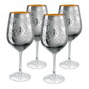 Artland Brocade 4-pc. Goblet Set
