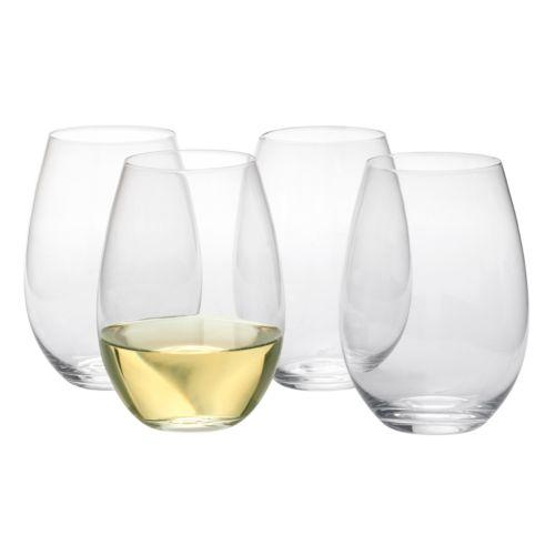 Artland Sommelier 4-pc. Stemless Tall Wine Glass Set