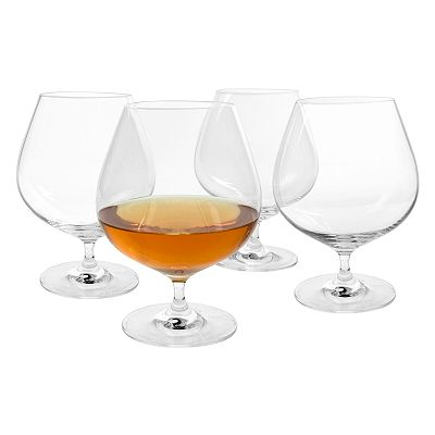 Artland Veritas 4-pc. Cognac Glass Set