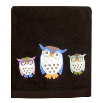 Allure Home Creations Awesome Owls Hand Towel