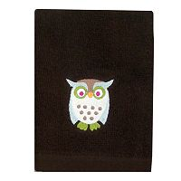 Allure Home Creations Awesome Owls Washcloth