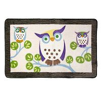 Allure Home Creations Awesome Owls Bath Rug