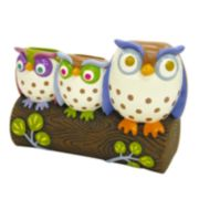 Allure Home Creations Awesome Owls Toothbrush Holder