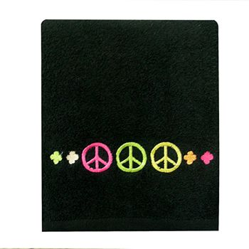 Allure Home Creations Peace Out Hand Towel