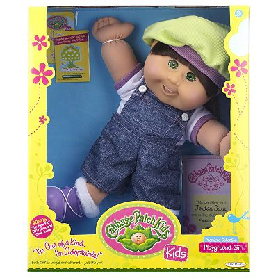 Cabbage Patch Kids Playground Girl Doll
