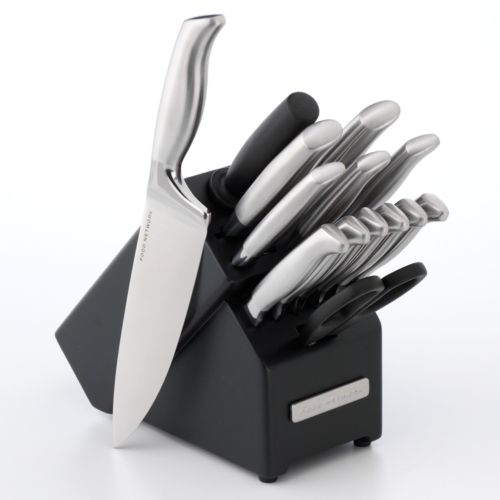 Food Network™ 15-pc. Stainless Steel Cutlery Set