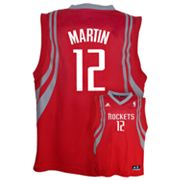 adidas Houston Rockets Kevin Martin NBA Jersey -  Boys 8-20