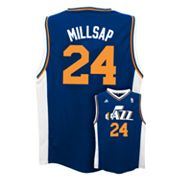 adidas Utah Jazz Paul Millsap NBA Jersey -  Boys 8-20