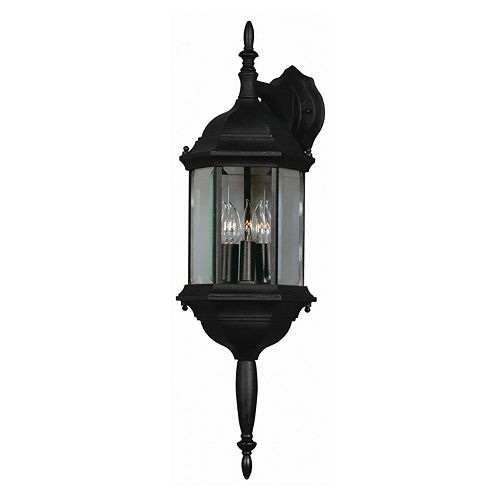 Custom Fit 3-Light Wall Lantern - Outdoor