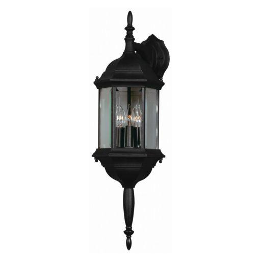 Custom Fit 3-Light Wall Lantern - Outdoor