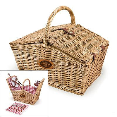 Picnic Time New York Jets Piccadilly Picnic Basket