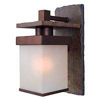 Boulder 1-Light Wall Lantern - Outdoor