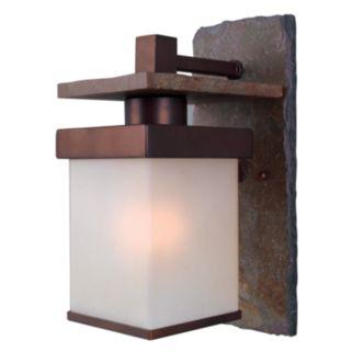 Boulder 1-Light Wall Lantern - Outdoor