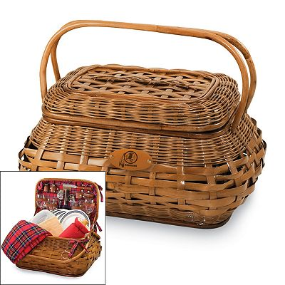 Picnic Time Washington Redskins Highlander Picnic Basket