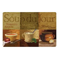 'Soup du Jour' Kitchen Mat