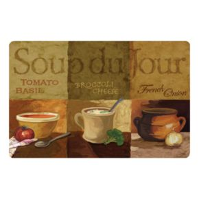 Soup du Jour Kitchen Mat