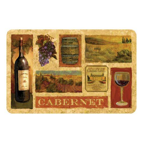 Cabernet Kitchen Mat