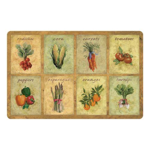 Vegetable Kitchen Mat