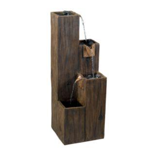 Timber Indoor or Outdoor Floor Fountain