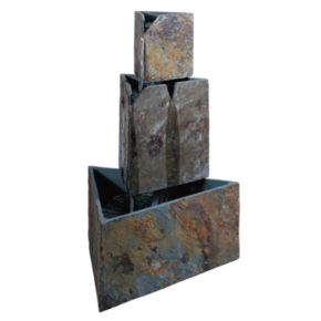 Stacked Triangles Fountain - Outdoor