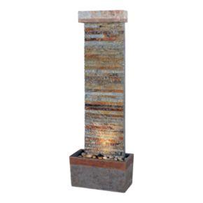 Tacora Horizontal Floor Fountain - Outdoor