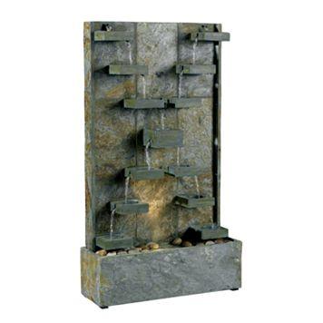 Watercross Floor Fountain - Outdoor