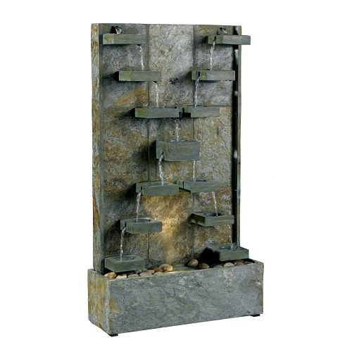 Watercross Floor Fountain - Outdoor