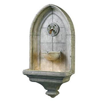 Canterbury Wall Fountain - Outdoor