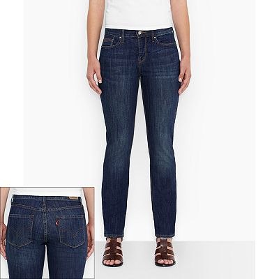 Levi's 525 Perfect Waist Straight-Leg Jeans - Petite