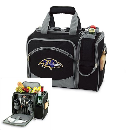 Picnic Time Baltimore Ravens Malibu Insulated Picnic Cooler