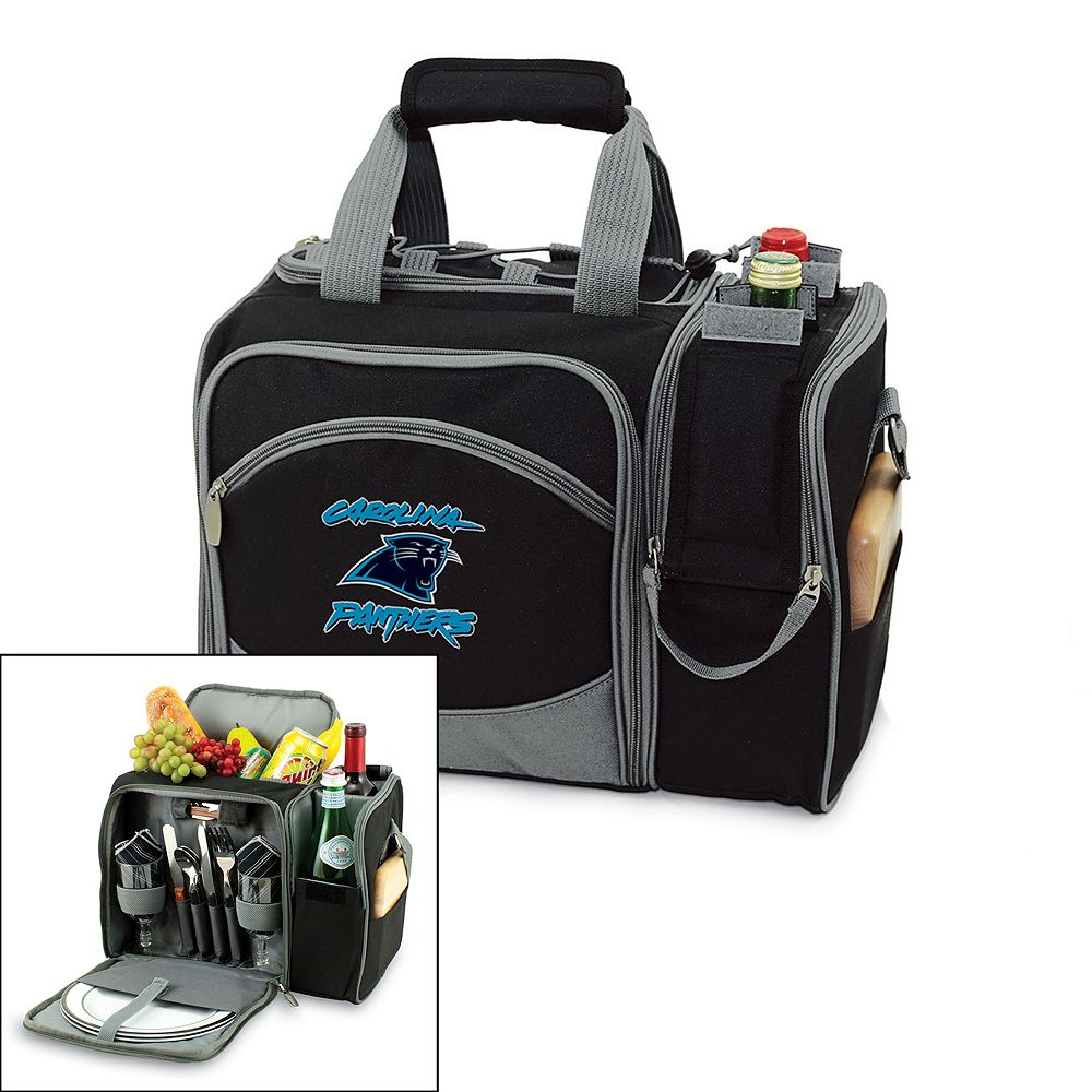 Picnic Time Carolina Panthers Malibu Insulated Picnic Cooler