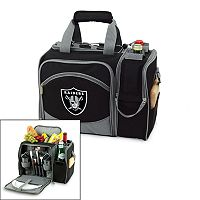 Picnic Time Oakland Raiders Malibu Insulated Picnic Cooler