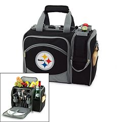 Picnic Time Pittsburgh Steelers Malibu Insulated Picnic Cooler