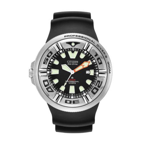 Citizen Eco-Drive Professional Diver Stainless Steel Watch - BJ8050-08E - Men