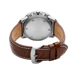 Citizen Eco-Drive Men's Perpetual Calendar Leather Chronograph Watch - BL5250-02L